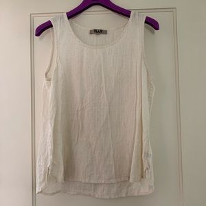 Flax Linen + Cotton Tank - Medium